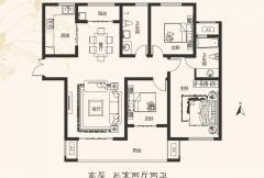 建业桂园高层19号楼 3室2厅2卫1厨