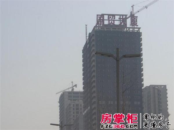国贸大厦实景图