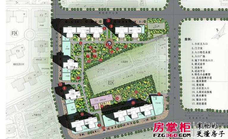 中弘卓越城效果图