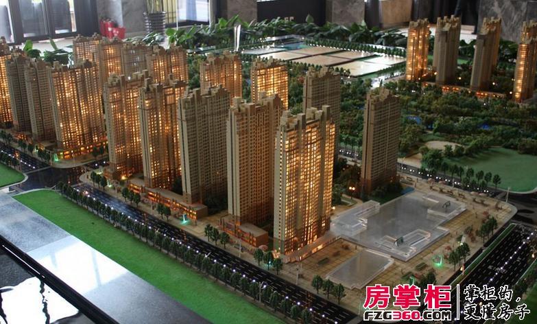 建业龙城实景图