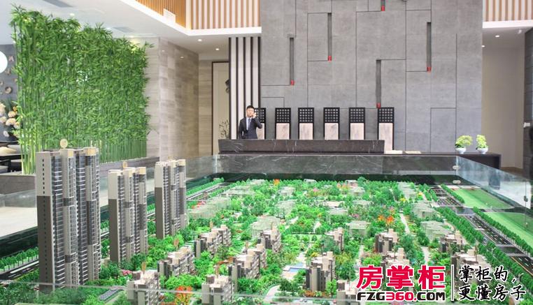 建业桂园实景图