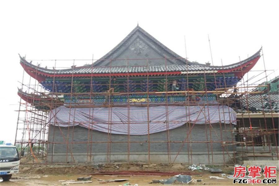 河洛古城实景图