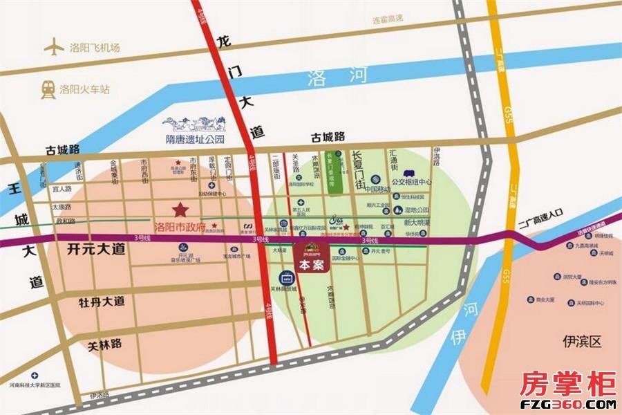 鼎盛国际交通图