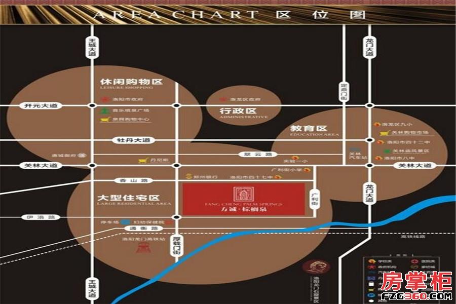 方诚棕榈泉交通图