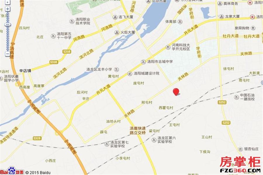 瀛洲花园交通图