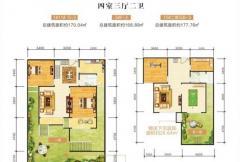 瀛洲花园户型图