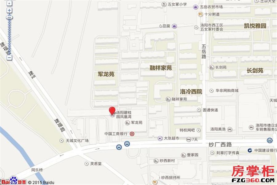 碧桂园凤凰湾交通图