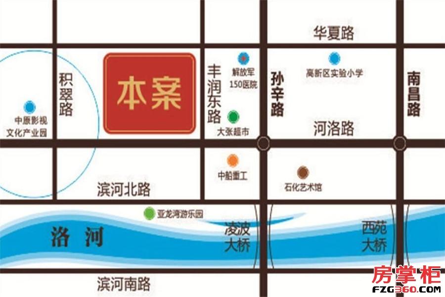 洛阳中南广场交通图
