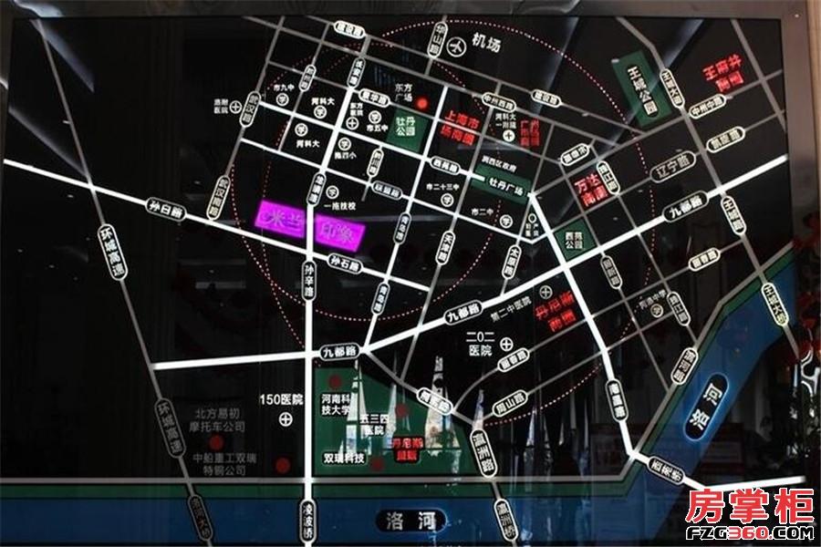 米兰印象交通图