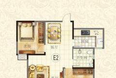 滨河御景苑5#楼E2户型图