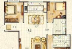 滨河御景苑5#楼E4户型图