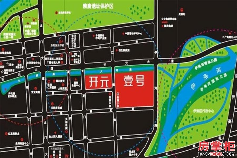 开元壹号交通图