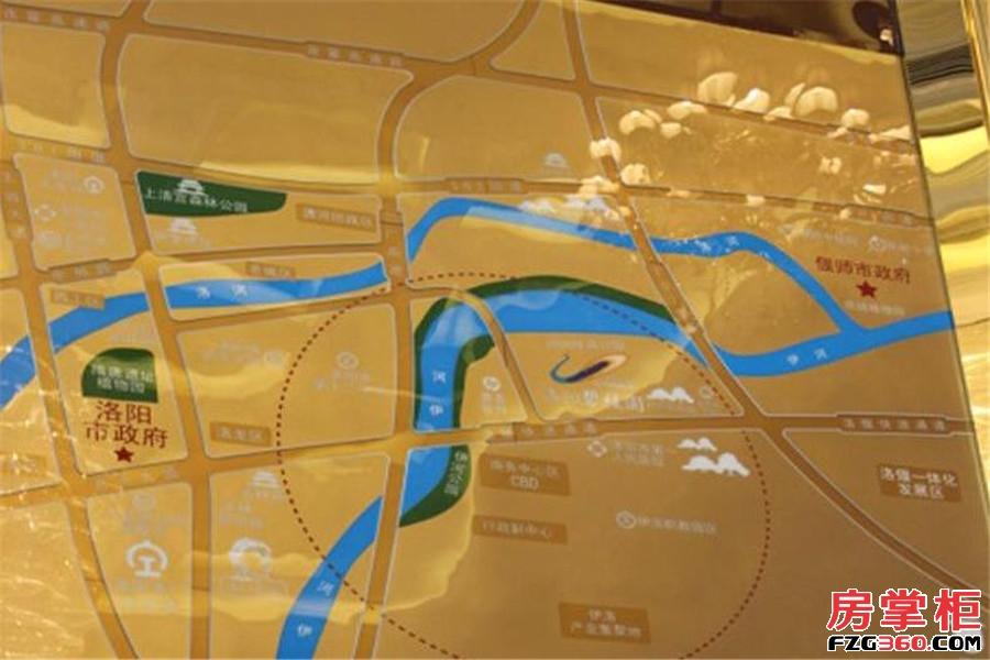 洛阳碧桂园交通图