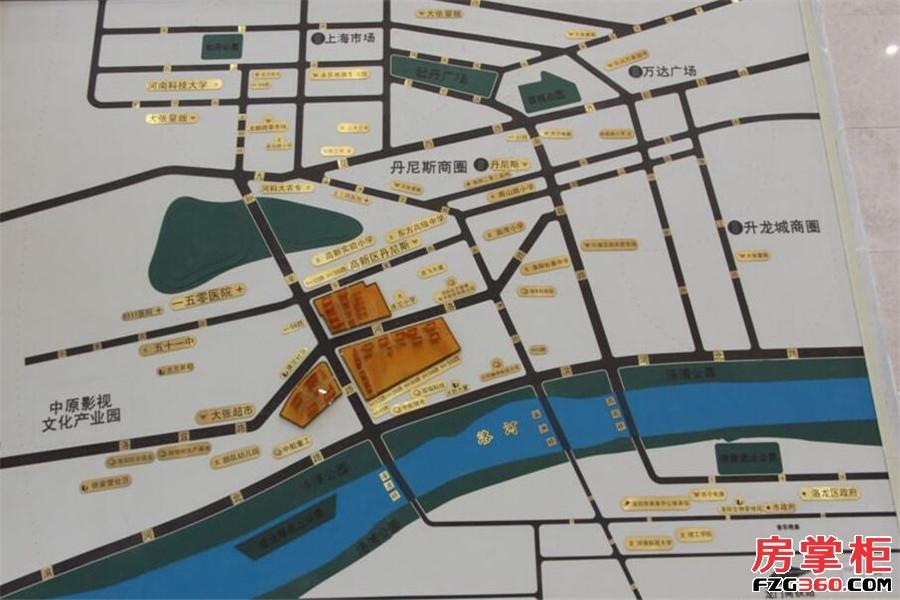 洛阳升龙又一城交通图