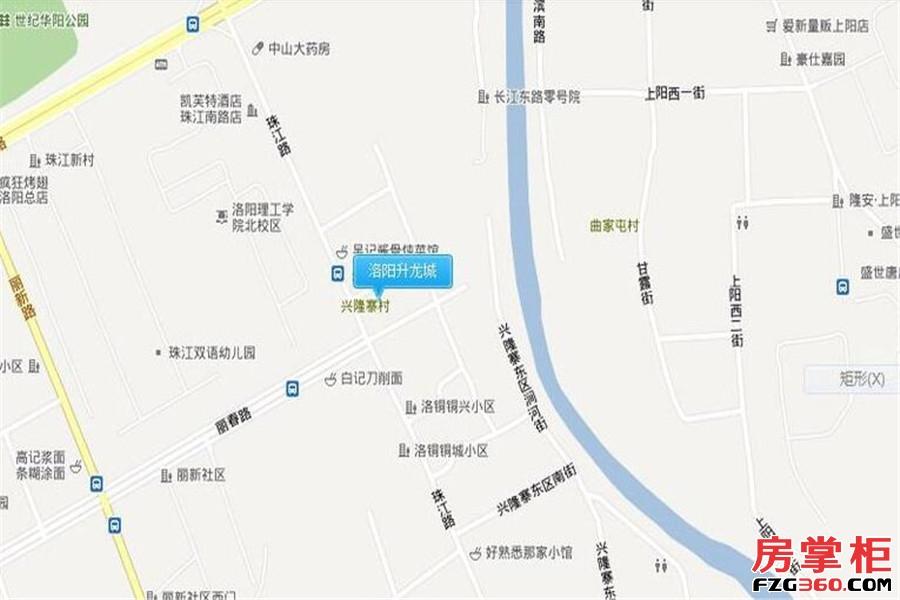 洛阳升龙城交通图