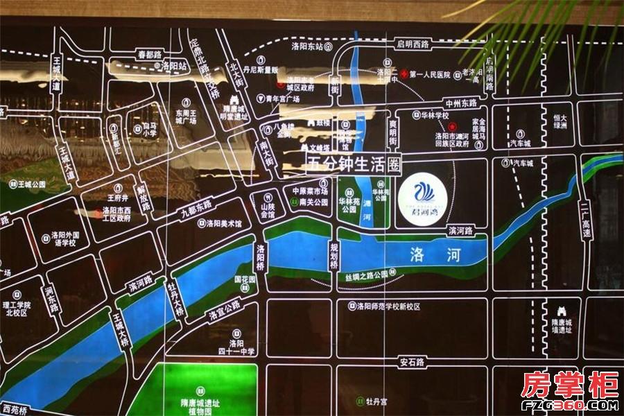 君河湾交通图