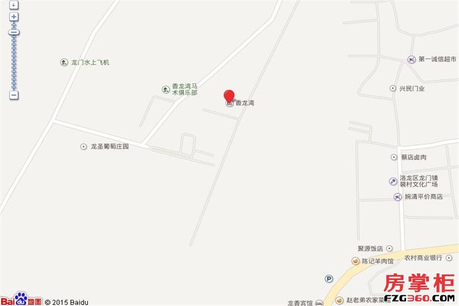 香龙湾交通图