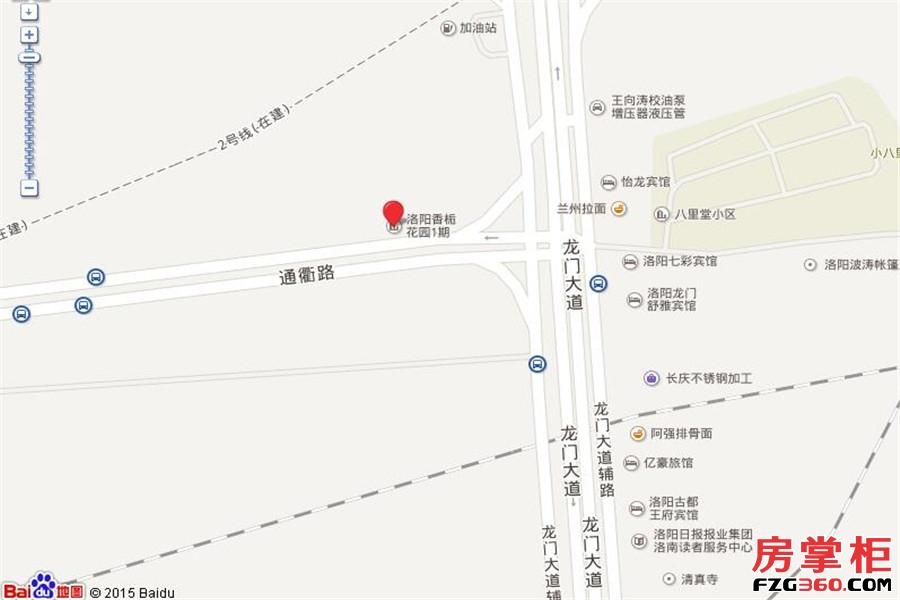 香栀花园交通图