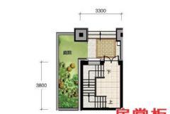 香龙湾Fb1户型地上一层