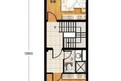 香龙湾Fa1户型地上二层