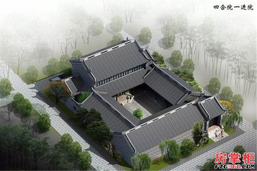 河洛古城效果图
