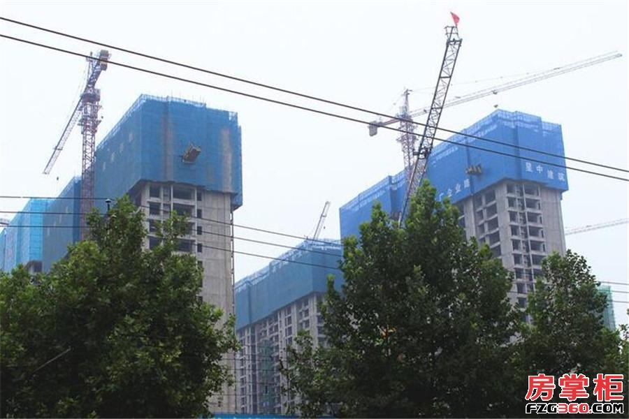 中弘卓越城实景图
