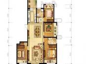 洛阳升龙城一期10号楼E2户型 4室2厅2卫1厨