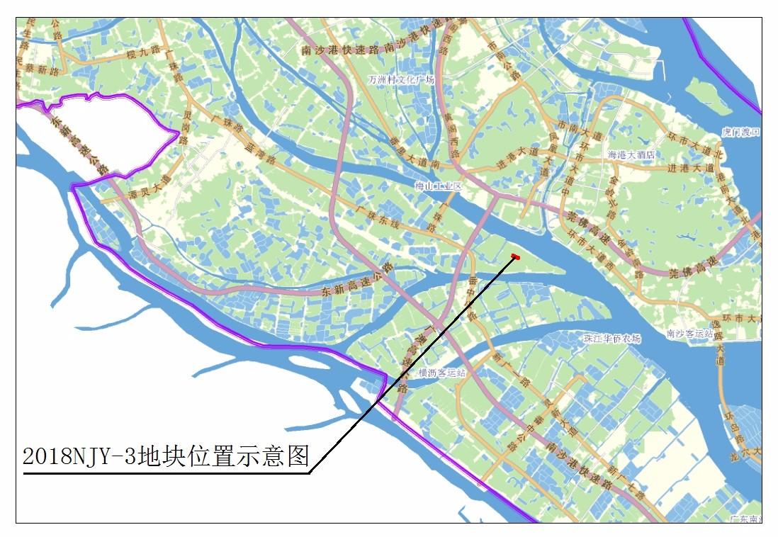 广州南沙灵山岛出让两宗商务地 成交总价15.1亿元