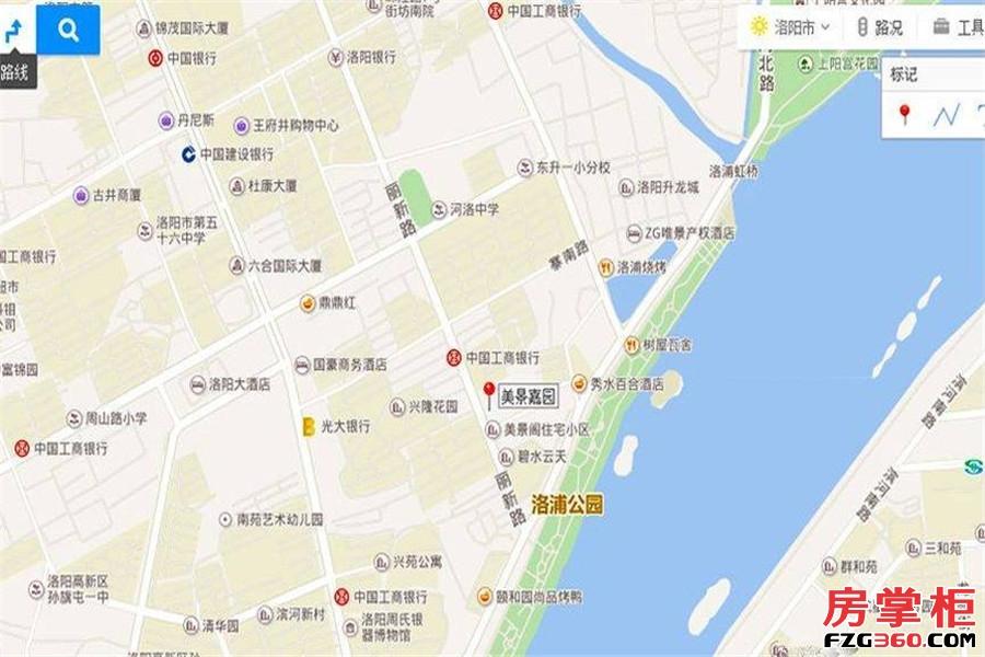 美景嘉园交通图