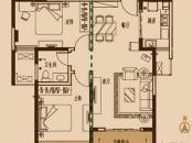 繁华城E2户型图