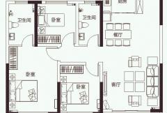 开元壹号C2户型图