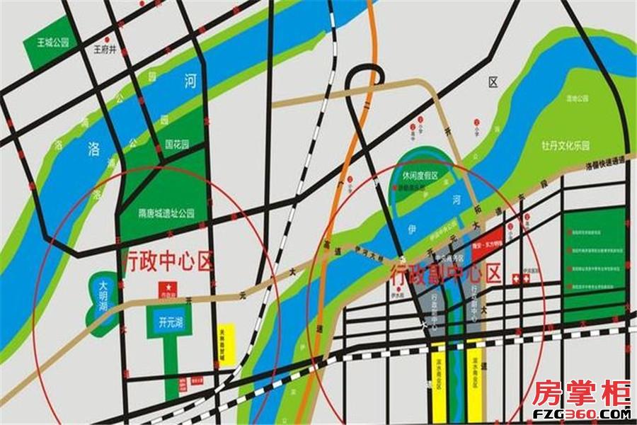 隆安东方明珠交通图