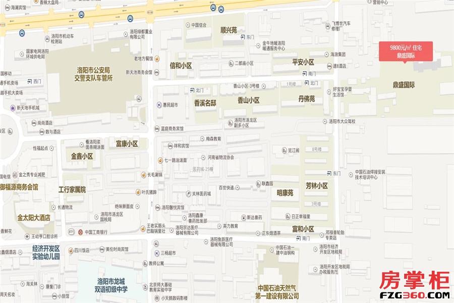 鼎盛国交通图