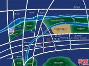 中电银河湾交通图