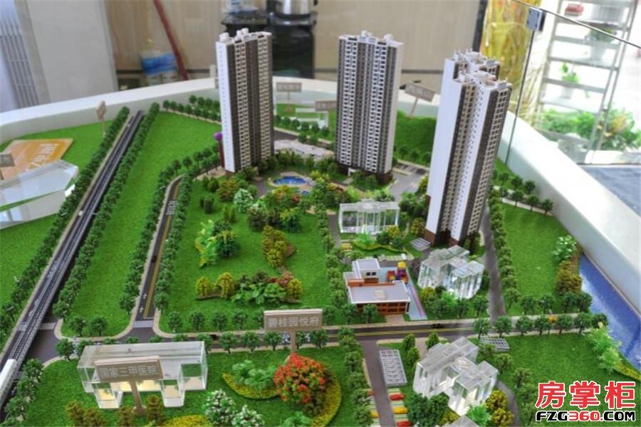 碧桂园城市之光沙盘图