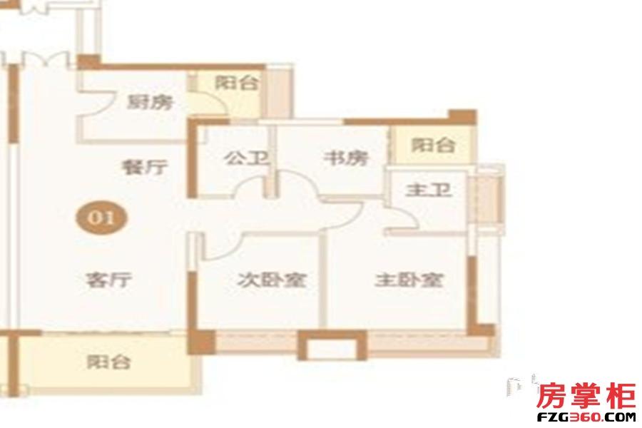 譽峯名門16棟01戶型
