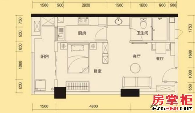 中航花園K2戶型