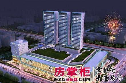 宁波新城吾悦广场营销接待中心将开放图片