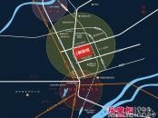 军隆御景城交通图区位图