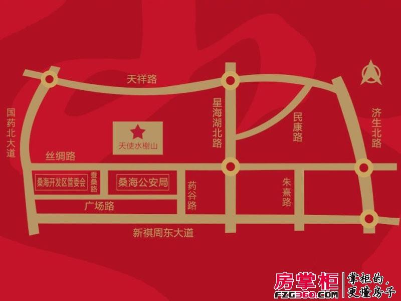 水榭山交通图交通示意图