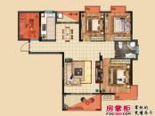 桑海明珠一期高层E3户型图