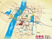 银亿上尚城交通图交通示意图