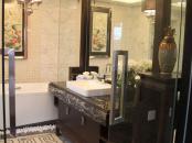 银亿上尚城样板间214平米联排别墅洗浴室