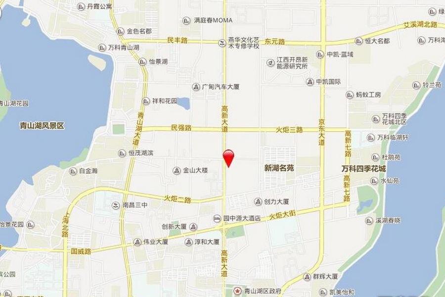 聚仁国际区位图