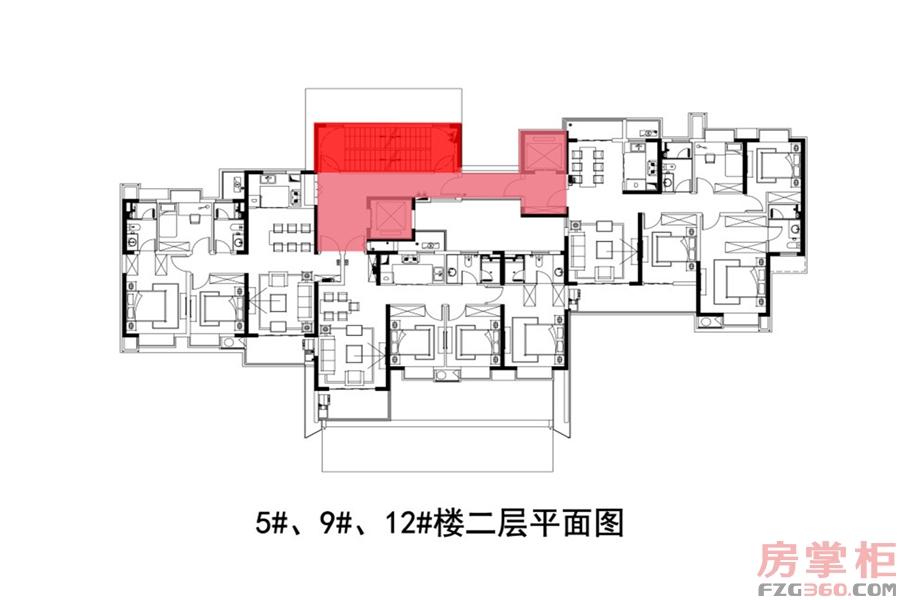 3#楼二层平面图