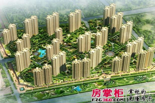 碧桂园凤凰城在售双拼美墅[凤凰岛] 均价12000元/平米
