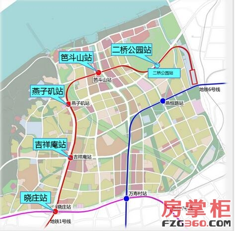安居G01要打造城北 江湾城 燕子矶新城已经崛起图片
