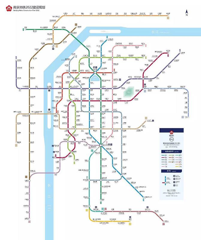南京将进入 大地铁 时代 燕子矶新城三线傍身图片