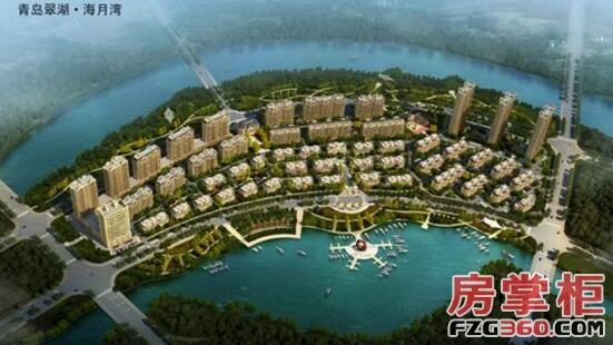 翠湖海月灣尚未開盤 規劃高層洋房疊拼聯排別墅多種產品