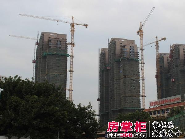 富临新天地实景图工程进度(2015-3-12)